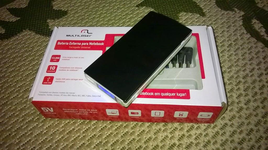bateria externa multilaser para notebook