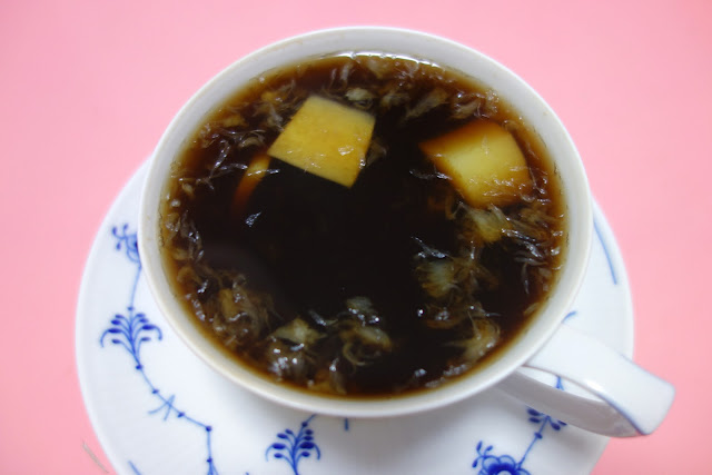 Boiled coke ginger lemon cold remedy