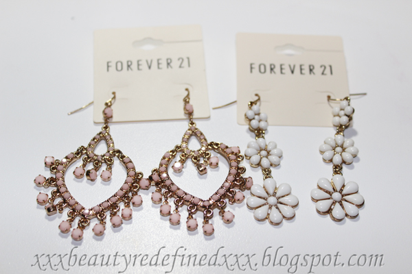 Beautyredefined by pang forever 21 jewelry hauling for Forever 21 jewelry earrings
