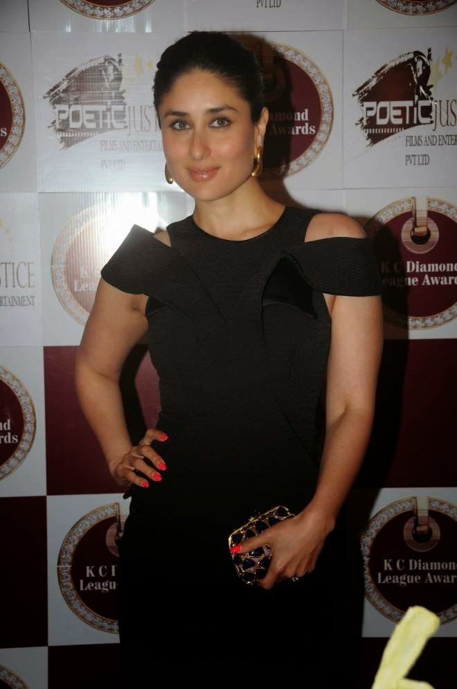Kareena Kapoor Looks Sexy In Black Short Dress