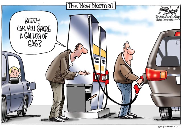 Image result for gas station cartoon funny
