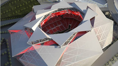 Atlanta Falcons launch website for new out-of-this-world stadium.