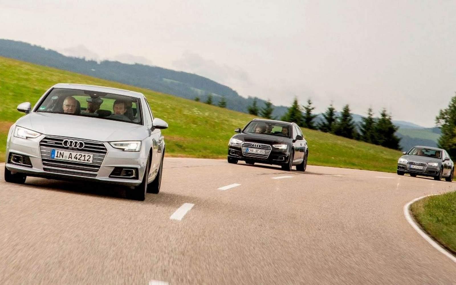 Novo Audi A4 2016