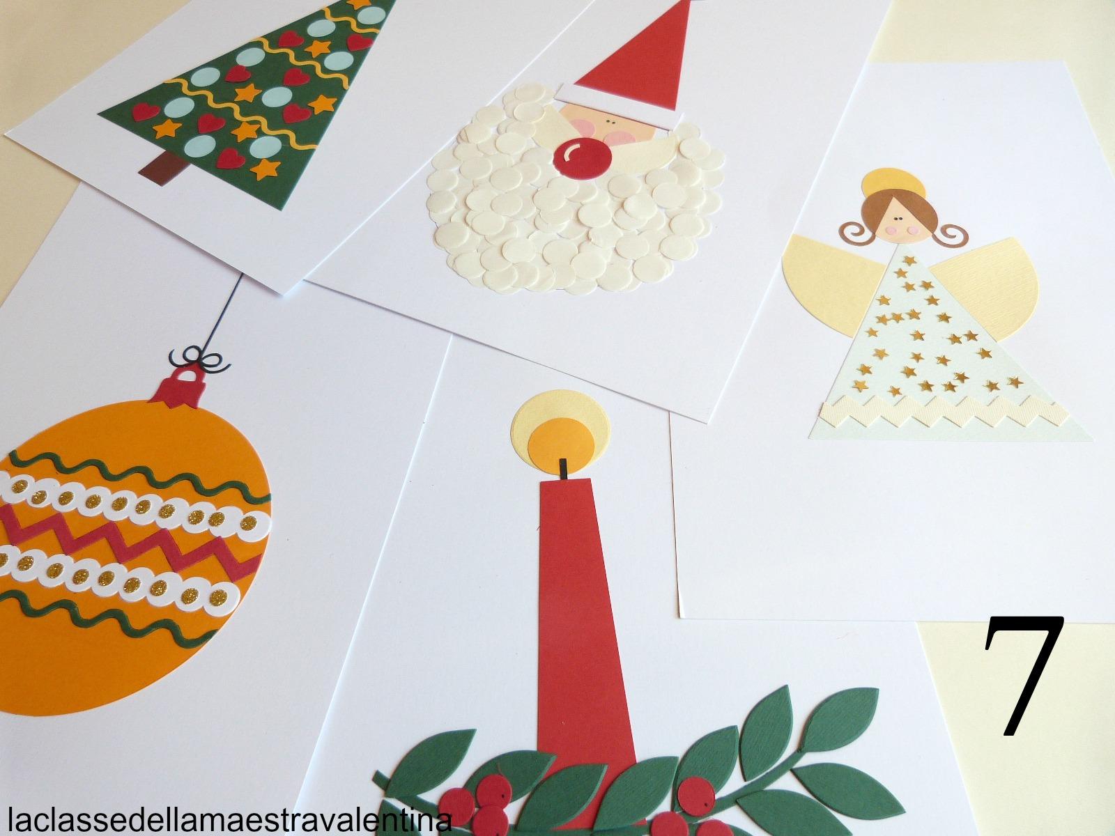 La classe della maestra valentina collages natalizi n 7 for La classe della maestra