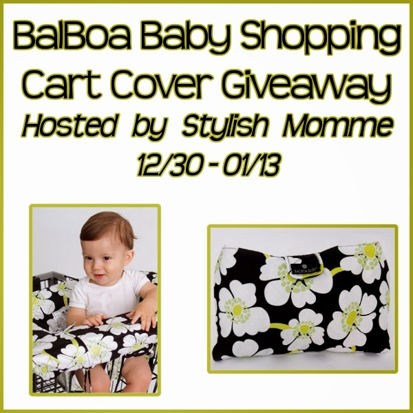 Balboa Baby Shopping Cart Cover Giveaway US Ends 1/13 | couponingmommagiveawaysreviews.com