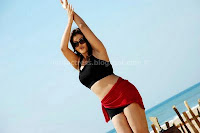 Hot, sona, latest, hot, navel, and, cleavage, show, in, bikini