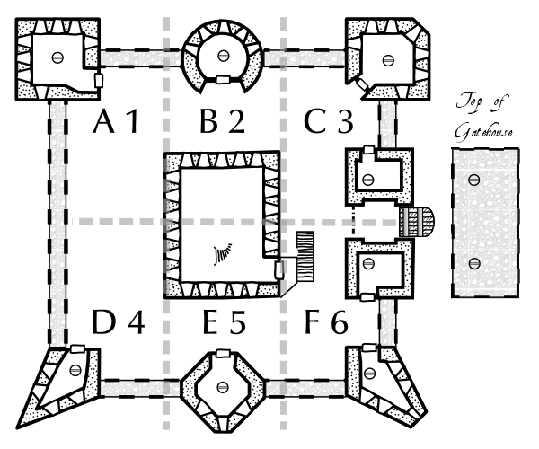 Old English House Plans further Raby Castle as well Medieval Traditional Japanese House Design as well 13256 Harbour Ridge Blvd besides 195132596326093278. on gatehouse floor plans