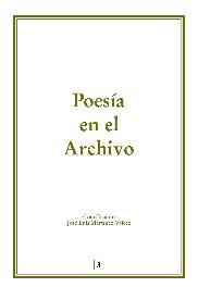 Poesía en el Archivo I