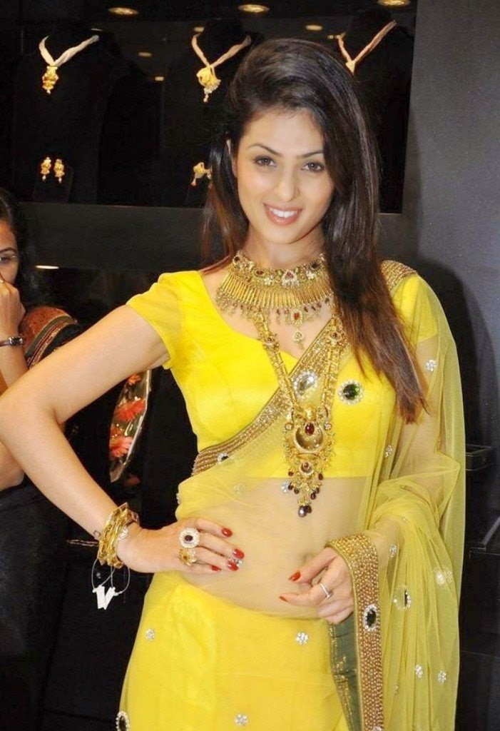 anjana sukhani hot latest navel hd pics yellow saree