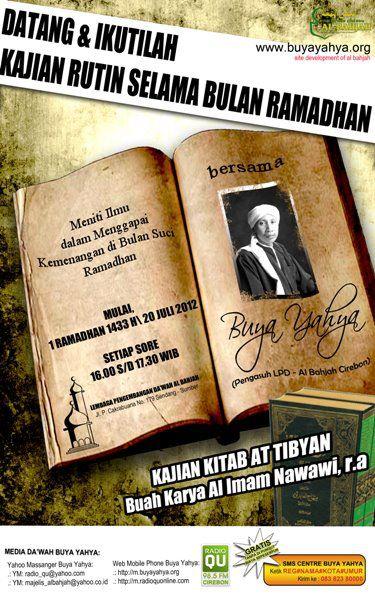 Pengajian Kitab At-Tibyan  Al-Imam Nawawi