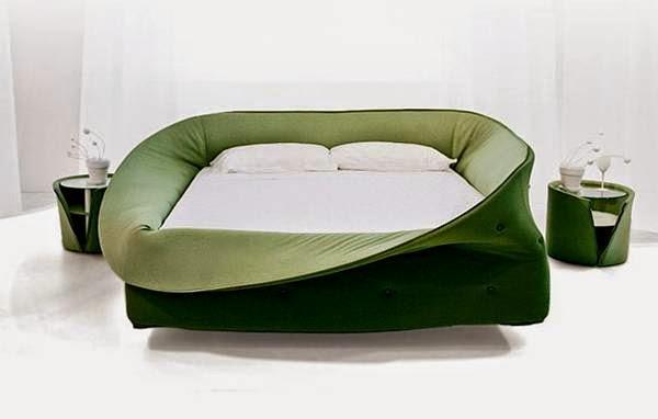 Private Cloud Rocking Bed Manuel Kloker سرير الغيمة الخاصة الهزاز تصميم