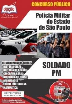 Concurso Polícia Militar / SP  SOLDADO DA POLÍCIA MILITAR
