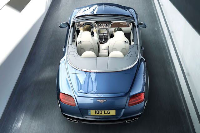2013 Bentley Continental GTC V8 Back Exterior