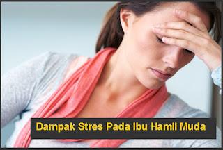 Bahaya Dampak Stres Pada Ibu Hamil Muda