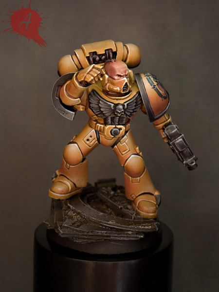 Imperial Fists Paint Colors