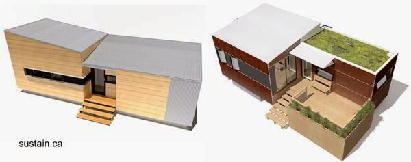 Arquitectura de Casas: Mini casa producida en Canadu00e1.
