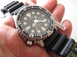 CITIZEN DIVER 200m NY0040 09E - LEFT CROWN - AUTOMATIC