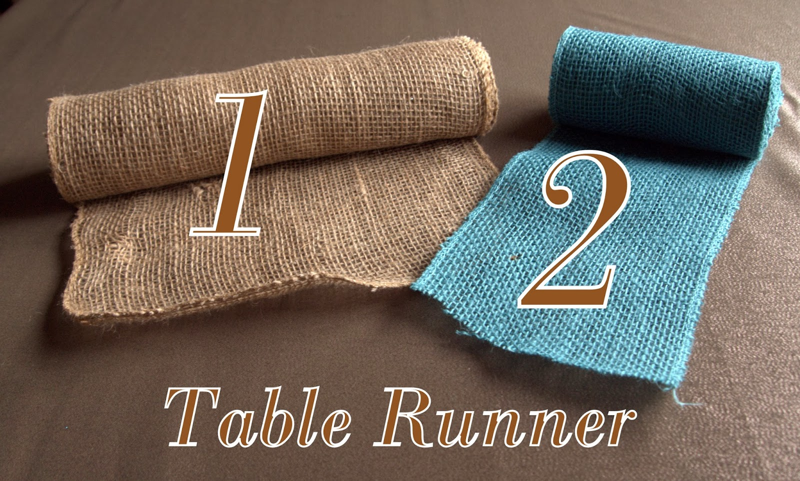 lobby  Ribbon table Table Burlap hobby runner Runner