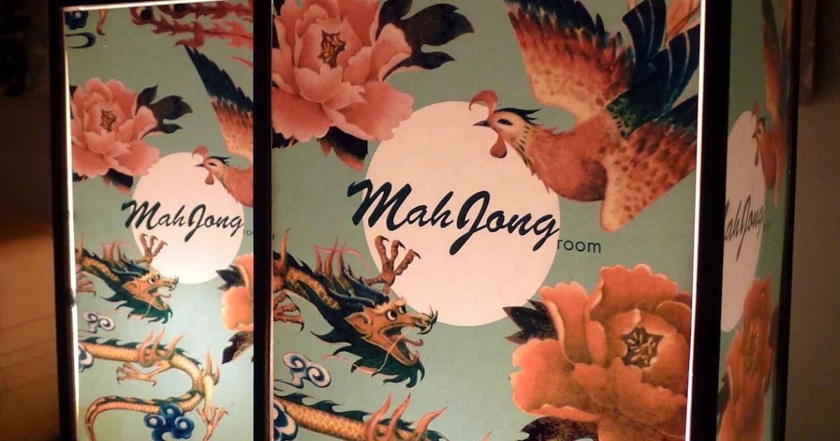 Mahjong Room Menu