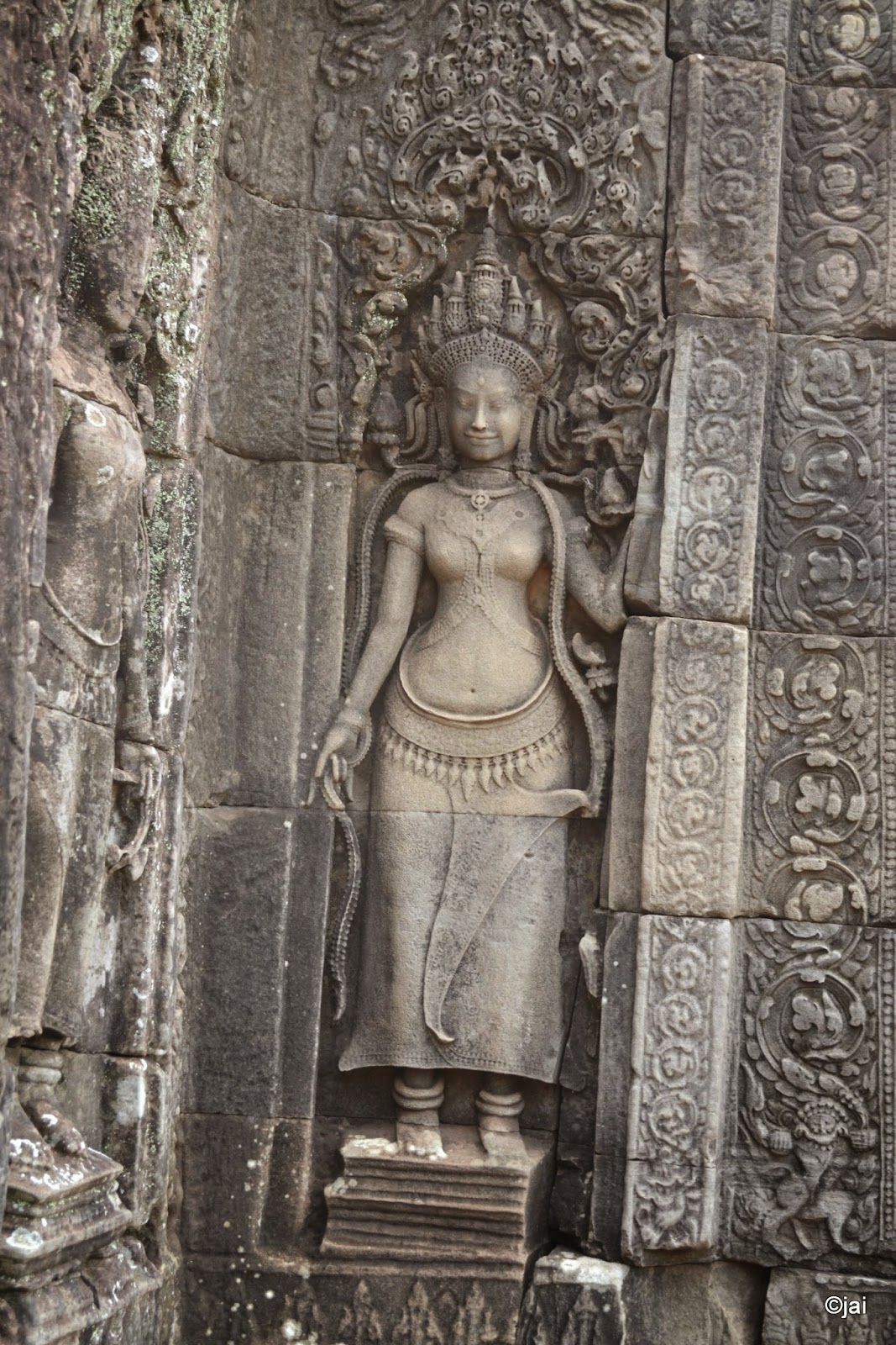 Apasara at The Bayon temple