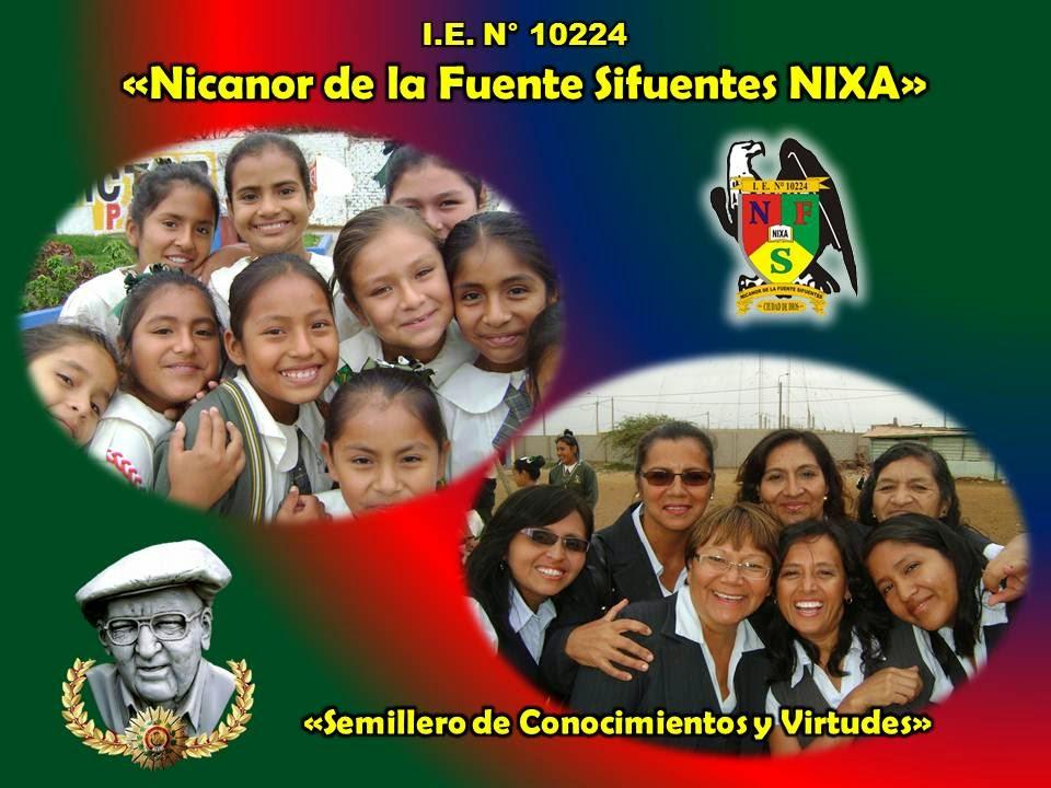 I.E. Nicanor de la Fuente Sifuentes NIXA
