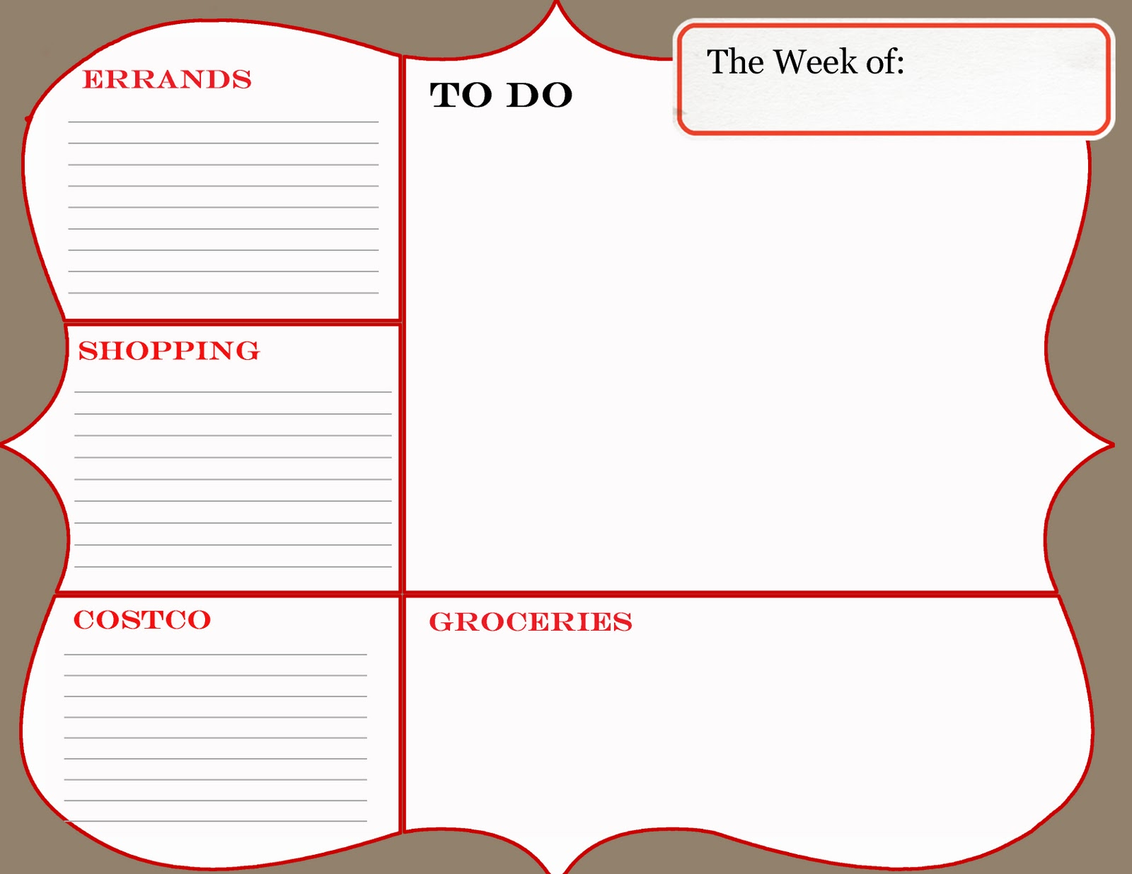 Displaying 20> Images For - Blank To Do List Template...