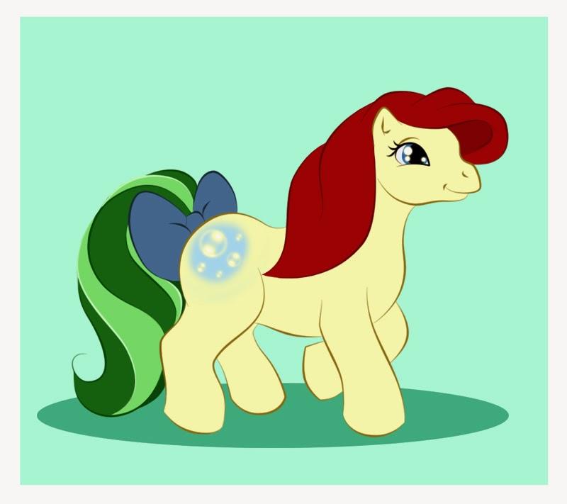 la princesa Ariel es un poni