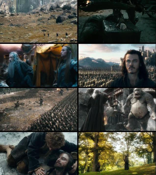 The Hobbit The Battle of the Five Armies 2014 EXTENDED Dual Audio 720p BRRip