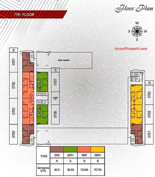 27 Best Alta Heights Apartments Images On Pinterest: Gambar Floor Plan Paddington Heights Apartment