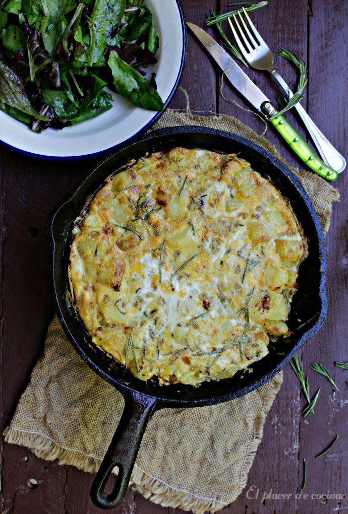 El placer de cocinar tortilla de patatas con hinojo y romero for Cocinar hinojo