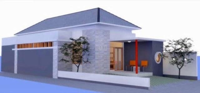 Aneka inspirasi Denah Rumah Minimalis Terbaru Type 1 Lantai 2015 yang bagus