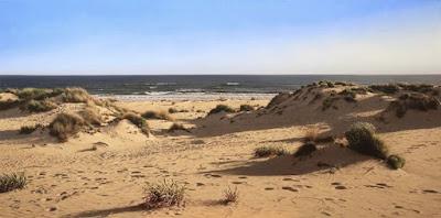 Cuadros De Paisajes De La Playa Marina