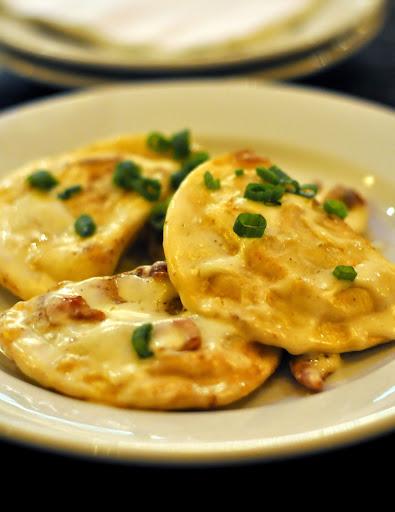 Cheesy-Pierogies-Bacon-St.-James-Gate-Bethlehem-PA-tasteasyougo.com
