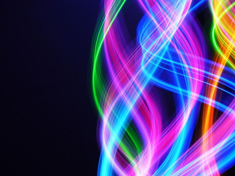 wallpapernarium colores de neon abstractos muy brillantes