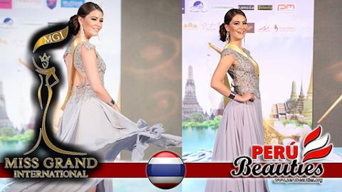 Presentación de Perú en Miss Grand International 2015 (Video)