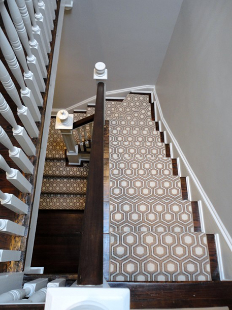 The Peak of Très Chic: Stair Runners That Make A Statement