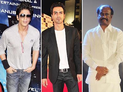 SRK gifts luxury cars to Arjun, Rajini and Anubha