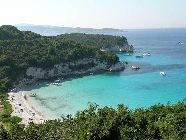 Παραλία Βουτούμι...Αντίπαξοι / Voutoumi beach-Antipaxi