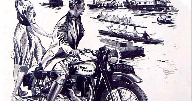 Racing Caf U00e8  Vintage Brochures  Royal Enfield 1947