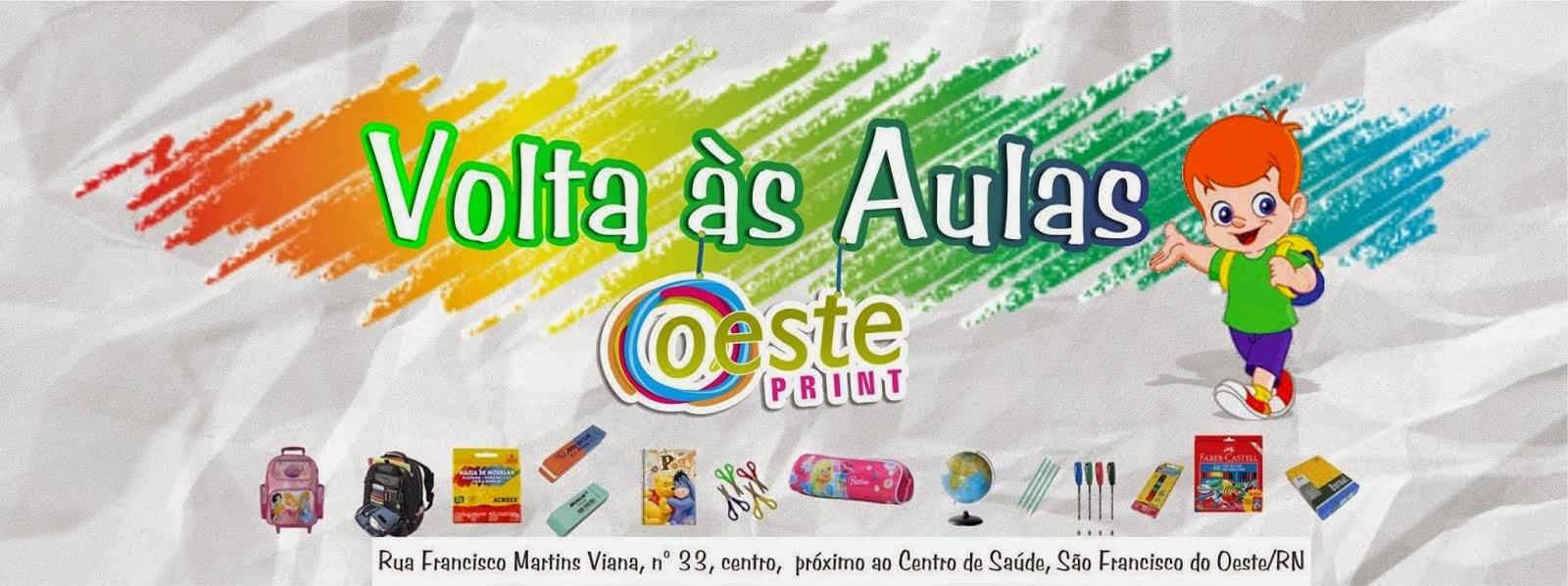PROMOÇÃO DE VOLTA ÀS AULAS!
