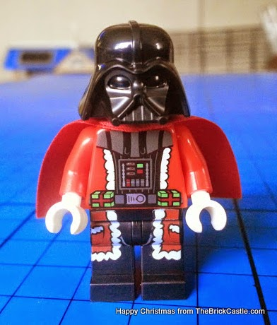 The LEGO Star Wars Advent Calendar Day 24 Darth Vader Santa