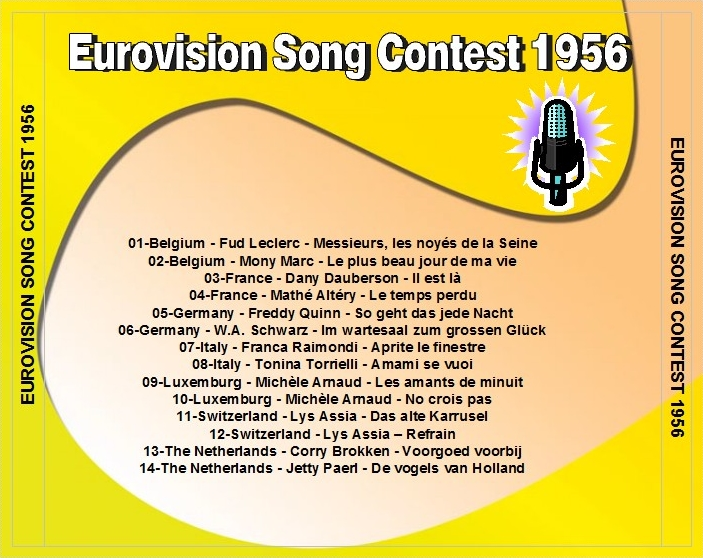 Eurovision song contest music the 50 39 s remastered eurovision song contest 1956 1957 1958 1959 - Franca raimondi aprite le finestre testo ...
