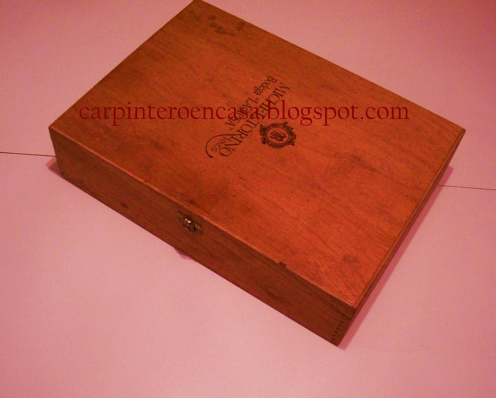 Carpintero en casa caja de madera parte 1 for Cajas de madera pequenas
