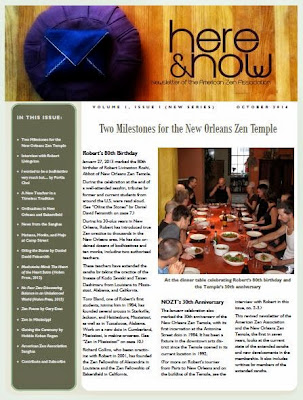 Here and Now - October 2014 - Front Page