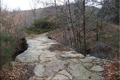 Pequeño puente de piedra