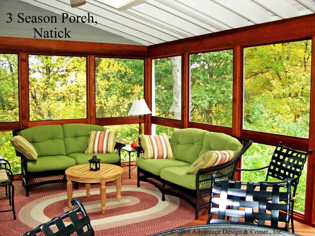 The perkins pack september 2011 for 2 season porch