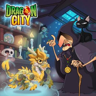 imagen del dragon marfil en ele mercado negro del dragon