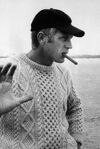 Steve Mcqueen Cable Sweater 50