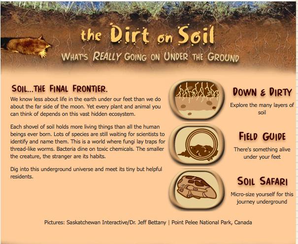 The dirt on soil school techie for Soil 7th grade