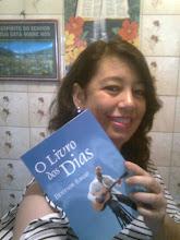 A belíssima amiga Patrícia Pinna e o Livro dos Dias